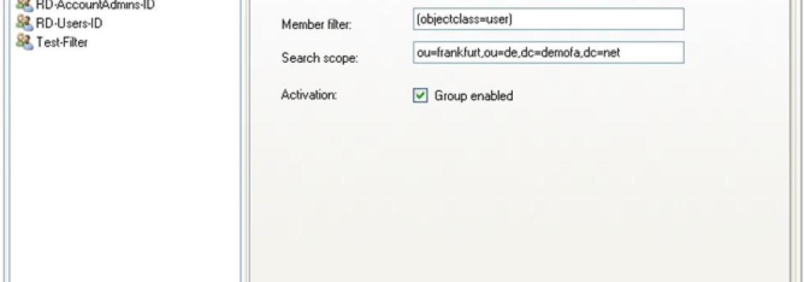 Active Directory dynamische Sicherheitsgruppen anlegen