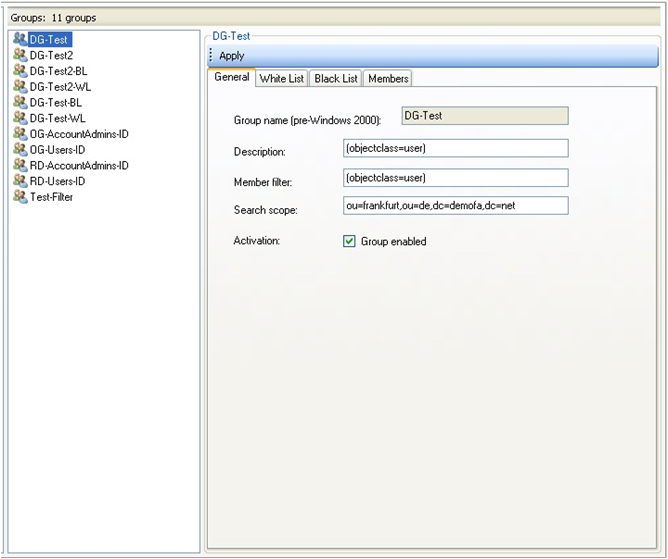Active Directory Dynamische Sicherheitsgruppen