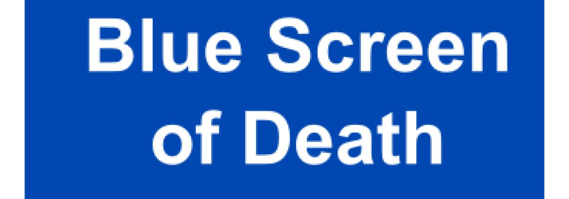 Grund eines BlueScreens – Anleitung zur Fehlersuche