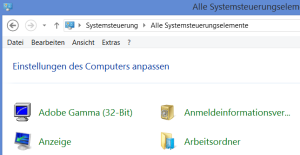 Arbeitsordner Work Folders win8