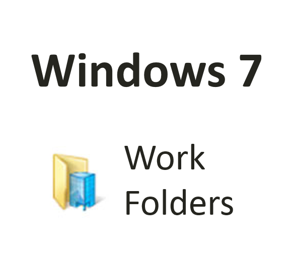 Work Folders in Windows 7