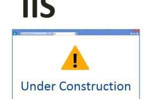 IIS Wartungsseite mit App_offline.htm
