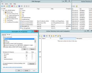 DNS Record - Computer Object gelöscht