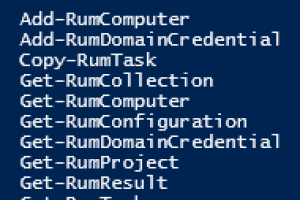 QMM AD – Resource Update mittels Powershell – PowerRUM