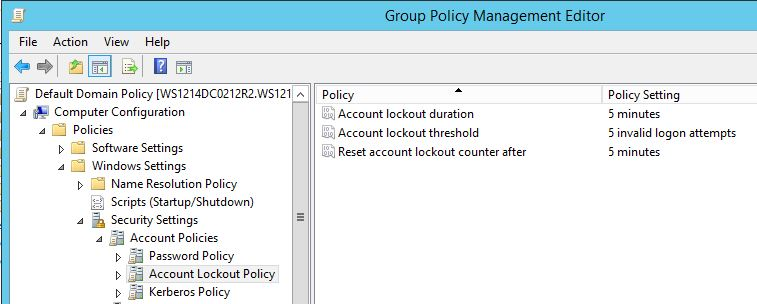 AccountLockouPolicy