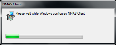 Uninstall - NMAS Client