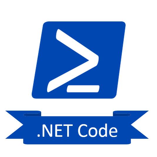 .Net Code in PowerShell