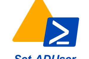 AD-PowerShell-cmldet-Set-ADUser
