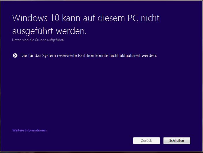 windows-10-system-reservierte-partition-konnte-nicht-aktualisiert-werden