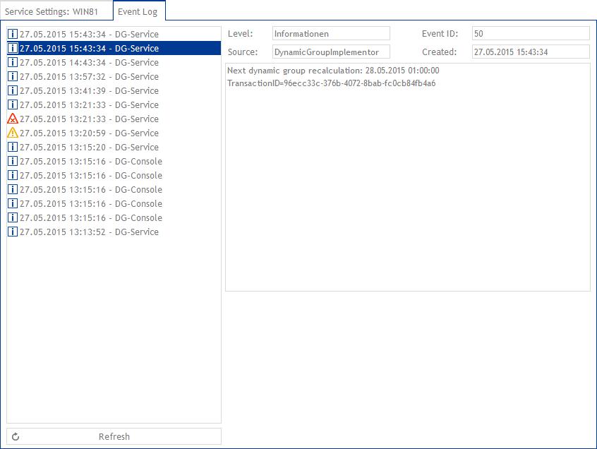 event-log