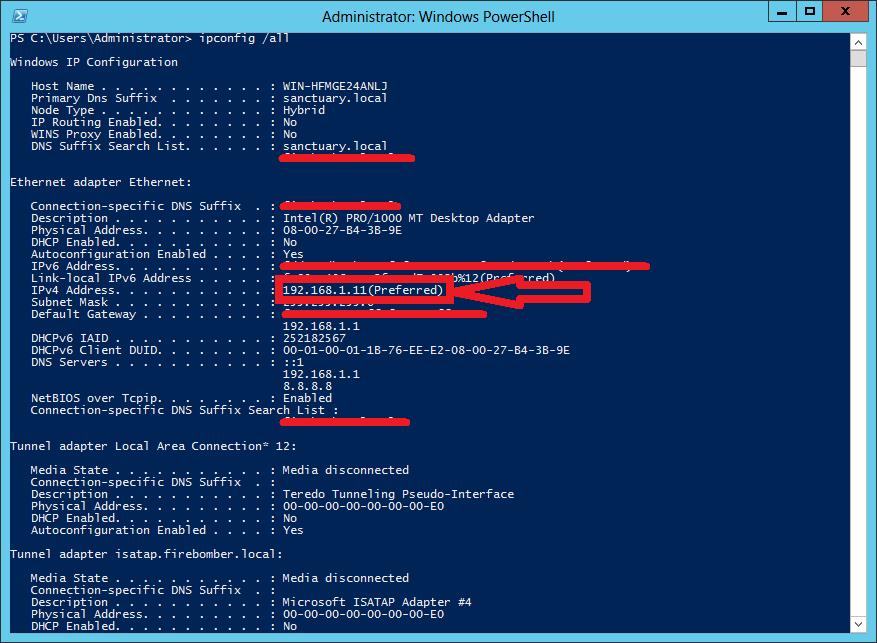 Testumgebung-openldap-ipconfig