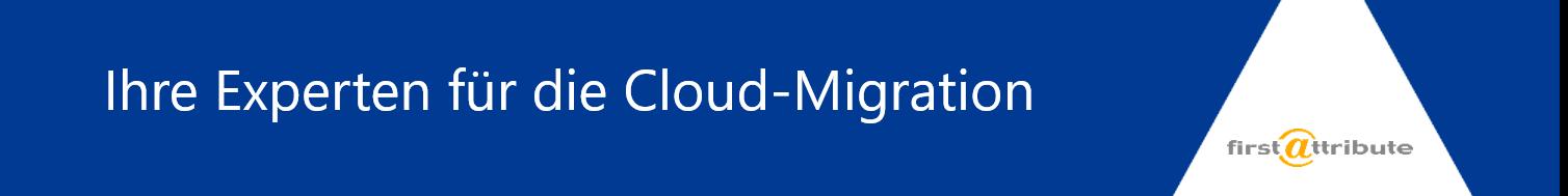 Ihre Experten für die Cloud-Migration
