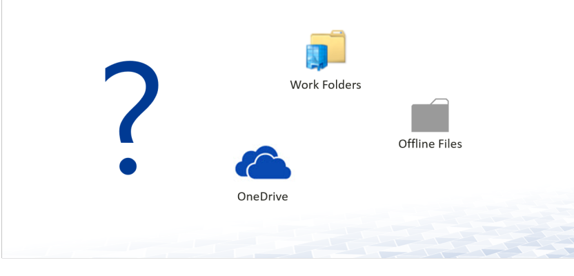Offline Files, Work Folder oder OneDrive for Business?