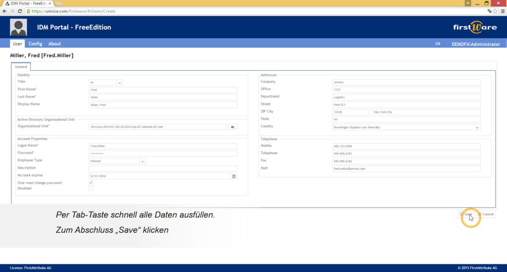 FirstWare-idm-portal-benutzer-anlegen