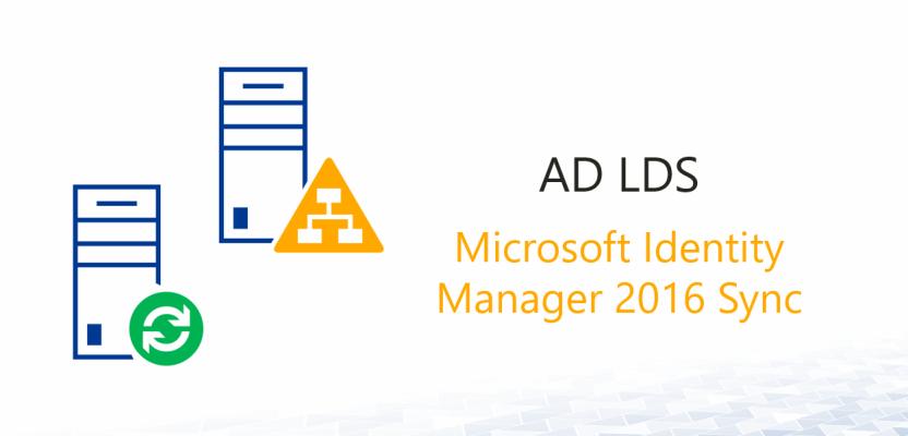 AD Domain und AD LDS via MIM 2016 synchronisieren