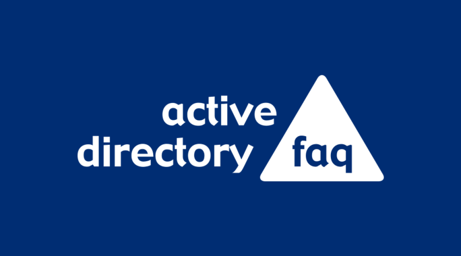 Active Directory FAQ – Relaunch 2016
