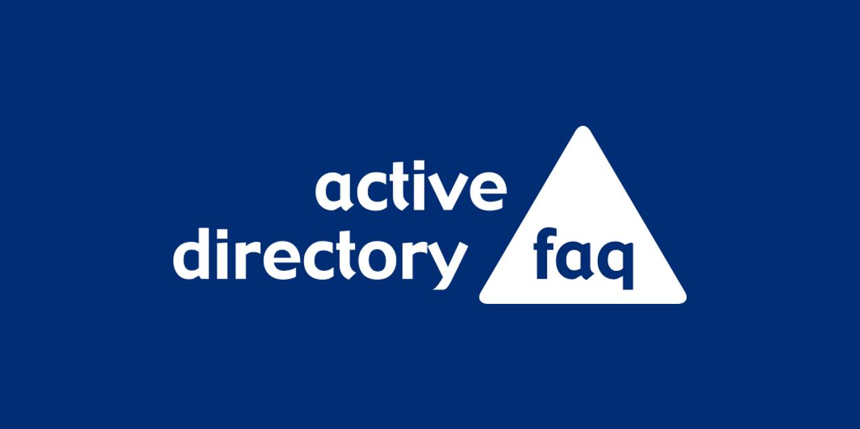 Active-Directory-FAQ-2016