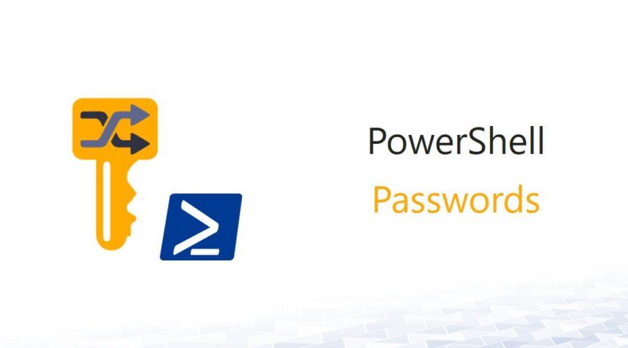 PowerShell – Zufälliges Passwort nach eigenen Vorgaben generieren