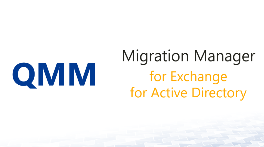 Migration Manager for AD/Exchange 8.13