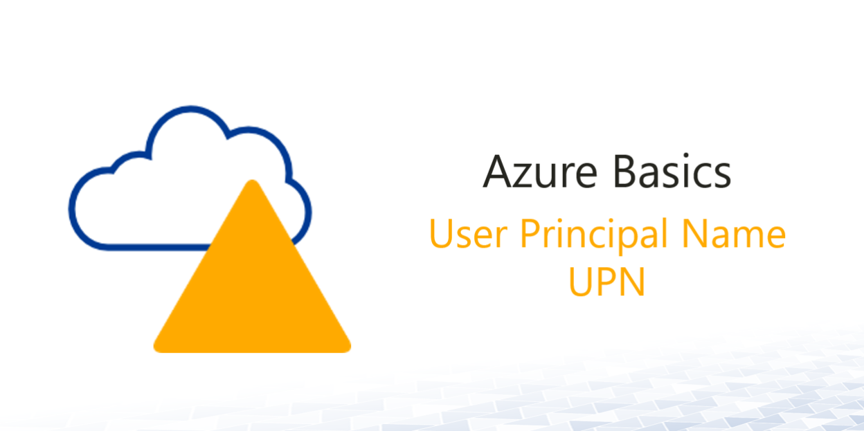 user principal name featured image