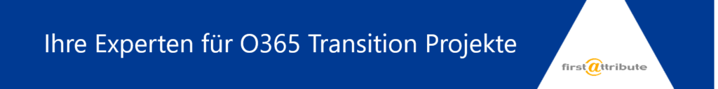 Experten für O365 Transition Projects