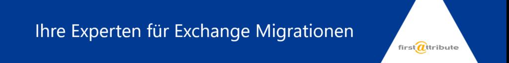 Exchange Migrationen