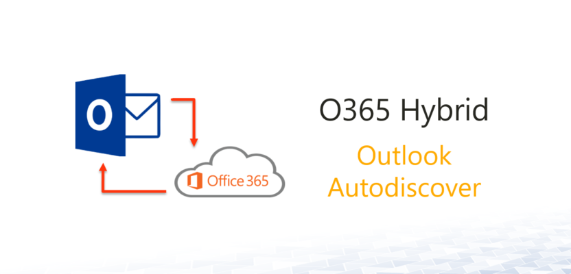 O365 Hybrid – Outlook Autodiscover