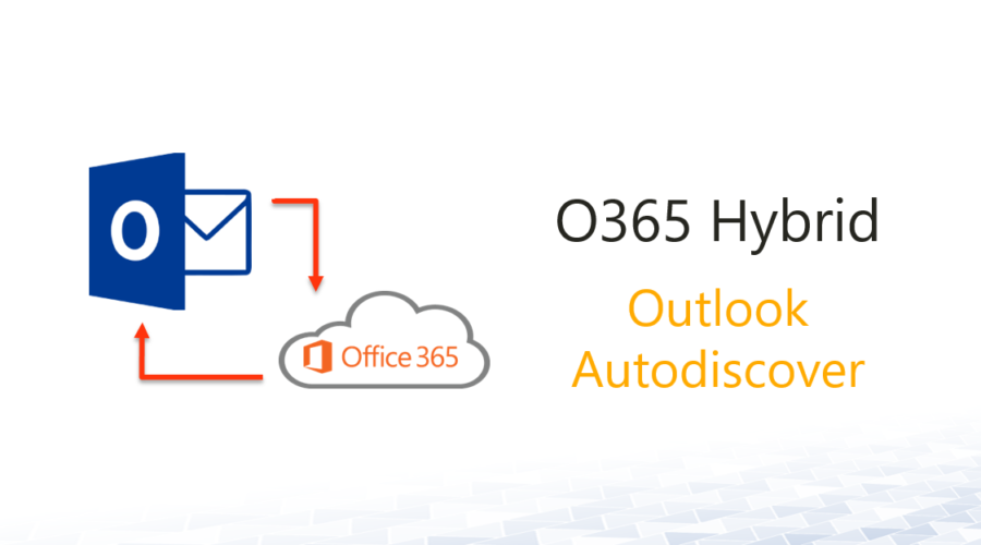 O365 Hybrid Outlook Autodiscover