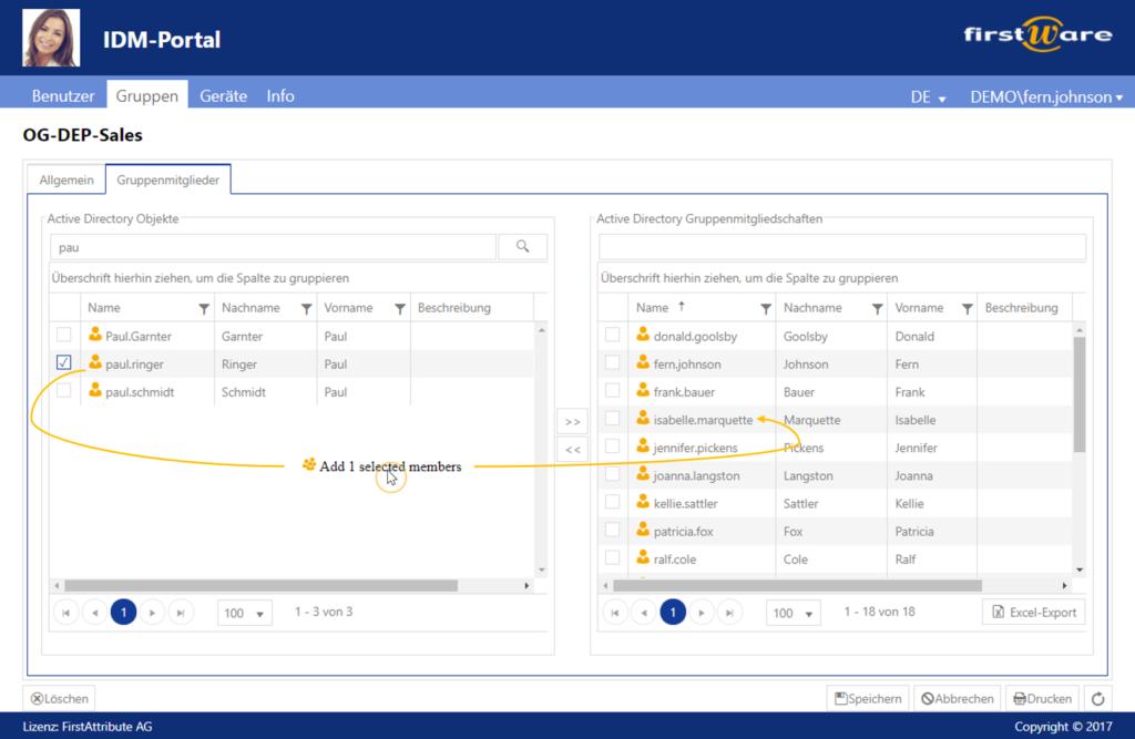 IDM-Portal-Gruppen-Manager