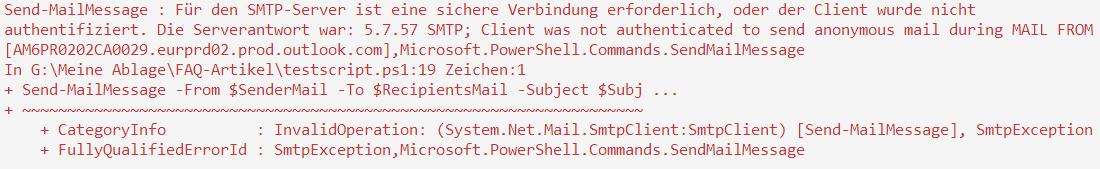 "Parameter ""-UseSsl"" anfügen"