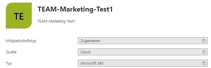 Teams Namensrichtlinien definieren - Microsoft 365 Gruppe mit Präfix
