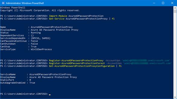 Windows Server Active Directory Gesamtstruktur einmalig für Azure AD Passwortschutz im Azure AD bekannt machen