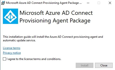 Installieren des Azure AD Connect Cloud Syncs