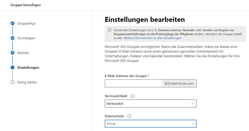 Anzeige der Sensitivity Labels im Microsoft 365 Admin Center - Einstellungen
